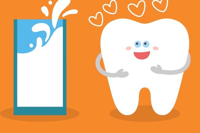 If you lose a tooth, rinse it with milk